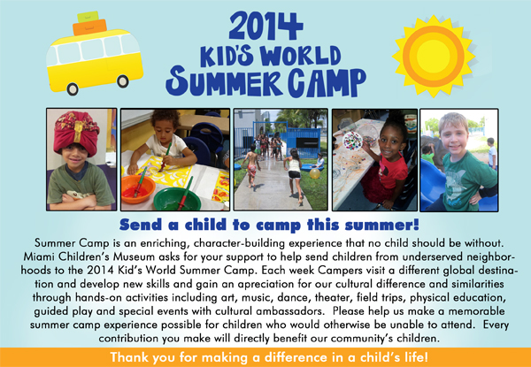 2014 Summer Camp Appeal